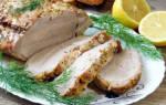 Карбонад свиной рецепт в духовке в фольге