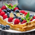 Рецепт вафель хрустящие в вафельнице