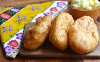 Рецепт дрожжевого теста на жареные пирожки