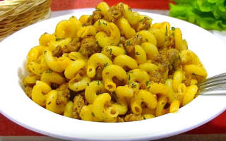 Рецепт с фото фаршированные макароны в мультиварке