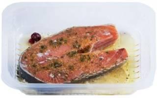 Стейк из форели в духовке рецепт в фольге с фото