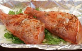 Рецепт приготовления окуня морского