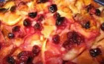 Пирог на кефире с ягодами простой рецепт