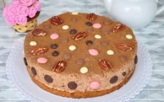 Торт пища богов рецепт пошагово с фото
