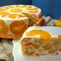 Торт желейный со сметаной рецепт с фото