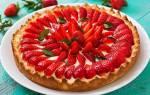 Пирог с замороженной клубникой рецепт с фото пошагово