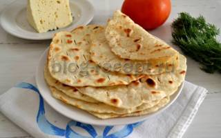 Лепешки на сковороде рецепт с фото на воде