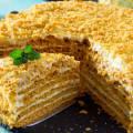 Торт на сковороде медовик пошаговый рецепт с фото