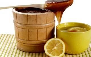 Рецепт с медом и лимоном от кашля рецепт