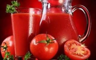 Рецепт из томатной пасты томатный сок