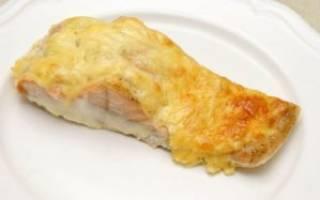 Рыба запеченная в духовке с сыром рецепт с фото