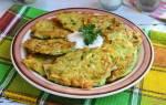 Вкусные оладьи из кабачков рецепт с фото