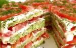 Торт из кабачков в духовке рецепт с фото