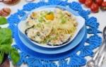 Макароны в сливочном соусе с морепродуктами рецепт с фото