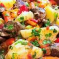 Жаркое из свинины с картошкой рецепт пошагово с фото