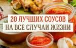 Рецепты соусов – Тут вкусно
