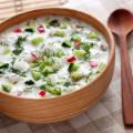 Окрошка рецепт классическая с колбасой на воде с уксусом и майонезом рецепт