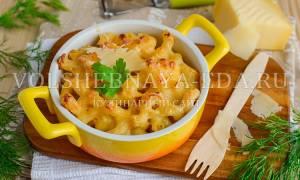 Макароны с сыром по американски рецепт