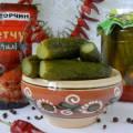 Рецепт огірків з кетчупом чілі торчин