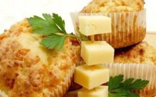 Маффины с курицей и сыром рецепт с фото