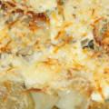 Мясо по-французски из свинины с картошкой в духовке рецепт с фото