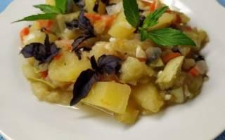 Овощное рагу в мультиварке рецепт с кабачками