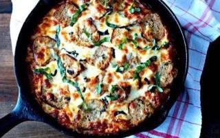 Быстрая пицца на сковороде рецепт пошагово с фото