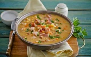 Рецепт в мультиварке горохового супа