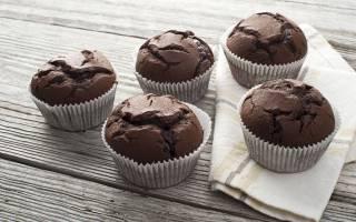 Кексы шоколадные рецепт с фото пошагово