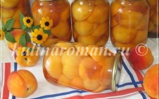 Персики консервированные рецепт без стерилизации с косточкой