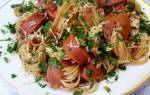 Макароны с сосисками интересный рецепт
