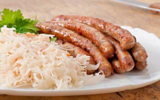 Тушёная квашеная капуста рецепт по-немецки