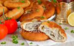 Домашние беляши пошаговый рецепт с фото