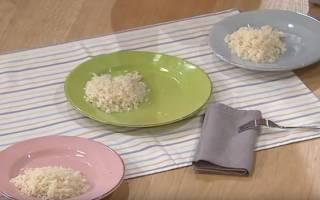 Сварить рассыпчатый рис на гарнир пошаговый рецепт