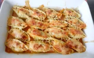 Фаршированные макароны ракушки с фаршем рецепт с фото на сковороде