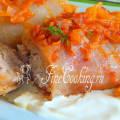 Голубцы с рисом и мясом рецепт с фото