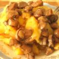 Лисички в сметане рецепт с картошкой