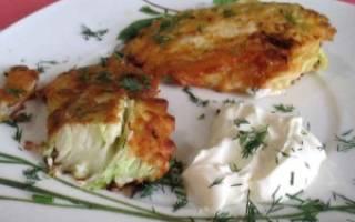 Белокочанная капуста в кляре пошаговый рецепт с фото