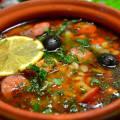 Мясная солянка рецепт пошаговый с фото