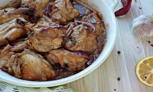 Курица в духовке кусочками с корочкой рецепт с фото