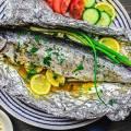 Запеченная в духовке в фольге рецепт с фото рыба