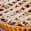 Рецепт пирога с песочного теста с ягодами