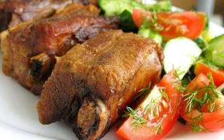 Что приготовить из свиных ребрышек рецепт с фото
