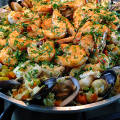 Паэлья рецепт классический с морепродуктами