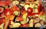 Запечённые овощи с сыром в духовке рецепт с фото