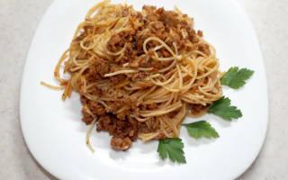 Рецепт спагетти болоньезе классический рецепт