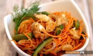Хе из рыбы с морковью по-корейски рецепт