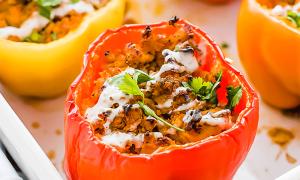 Рецепт перец фаршированный в духовке