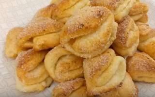 Рецепт печенье из творога треугольники