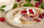 Вареники на пару с вишнями рецепт с фото